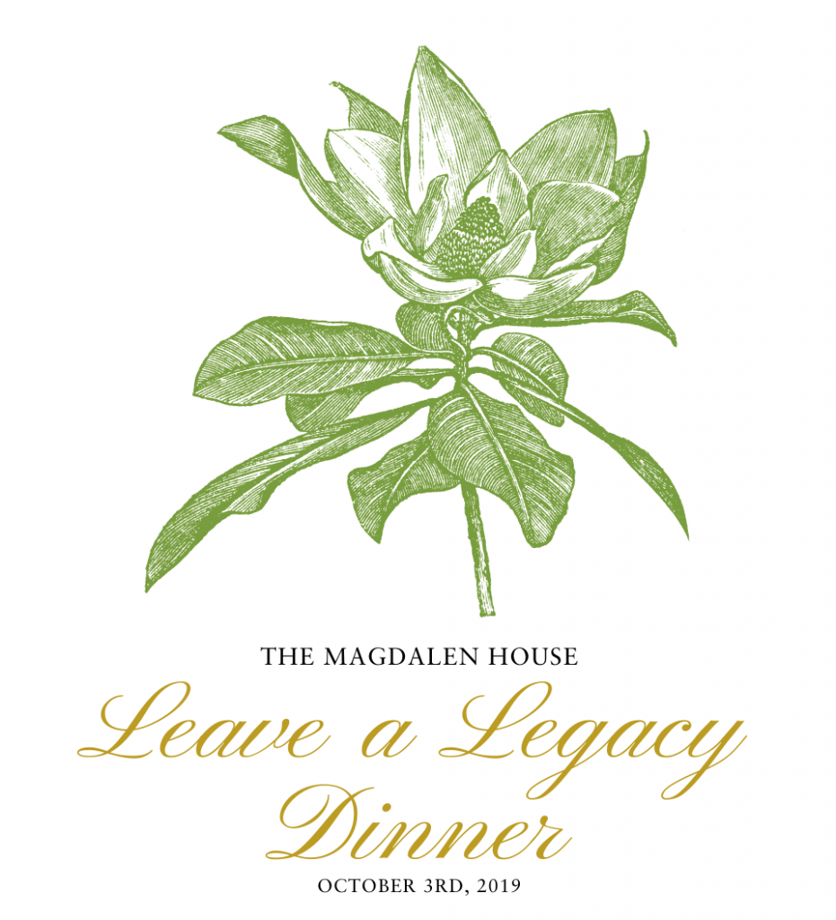 The Magdalen House Leave a Legacy Dinner with Mrs. Laura Bush October 3, 3019